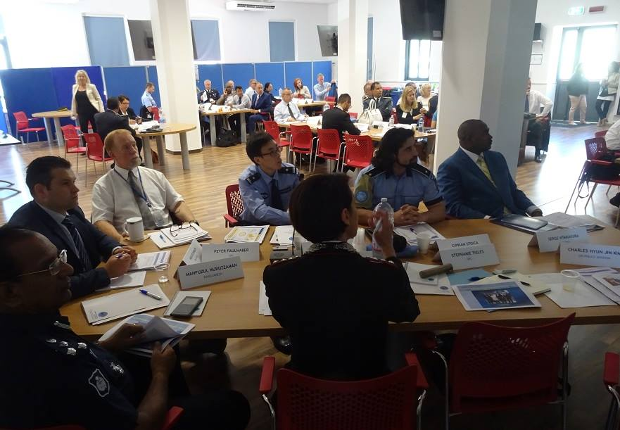Workshop for the guidelines on police administration at the base of the Standing Police Capacity in Brindisi, Italy. UN Photo
