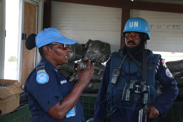 Making her Mark: Female Ghanaian Peacekeeper at the Helm of Formed Police Unit, South Sudan