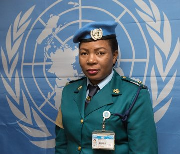 Female Police Peacekeeper 2017