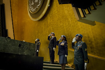 At first-ever summit, speakers stress central role of police in UN peace operations