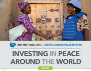 Peacekeepers Day Poster