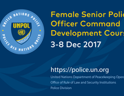 United Nations Police Female Senior Police Officer Command Development Course