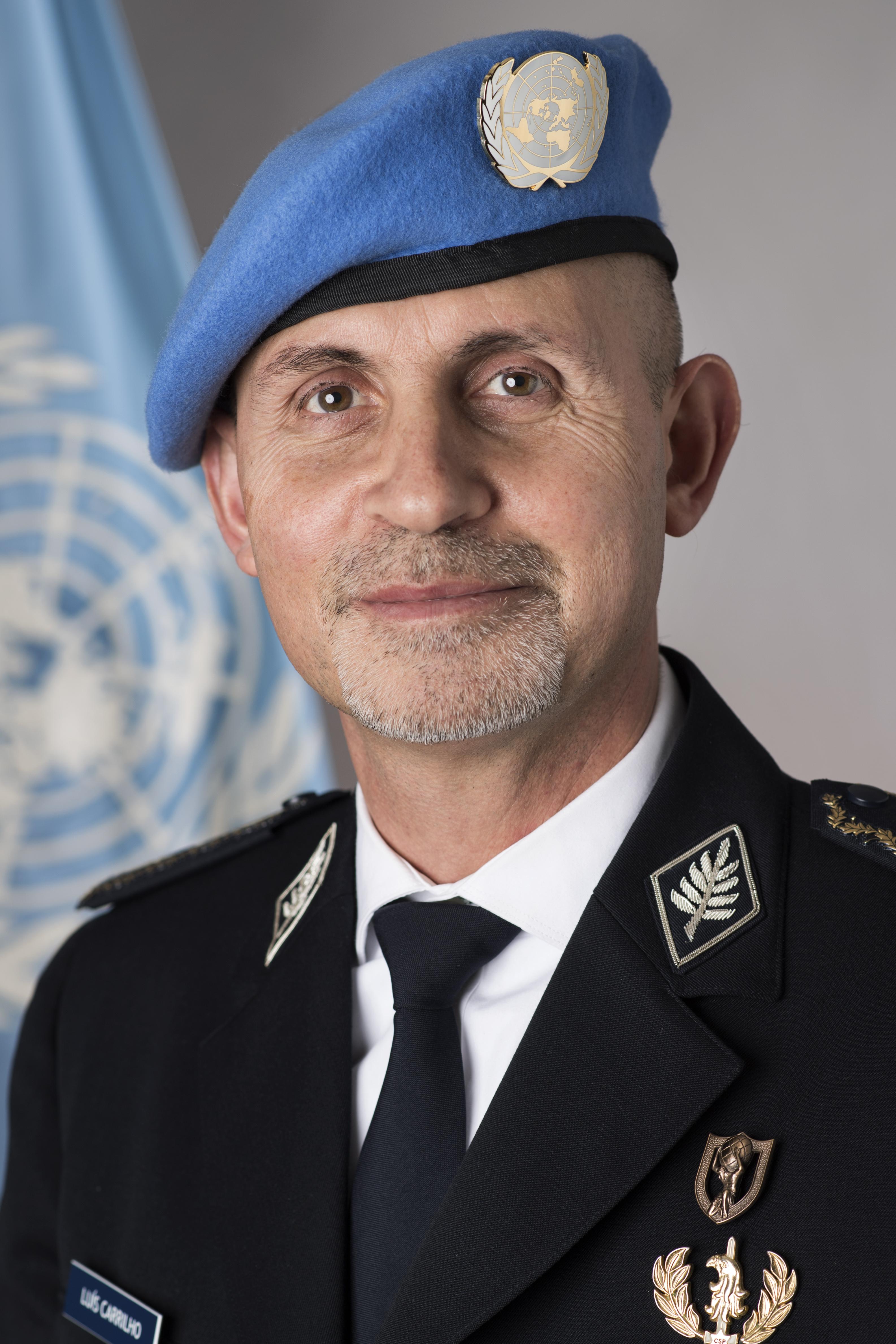 UN Police Adviser Luis Carrilho